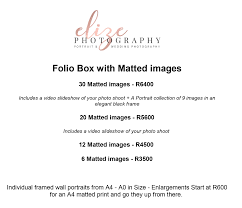 Microsoft Word Price List Microsoft Word Pricelist Folio Box With Matted Images 2018 Doc