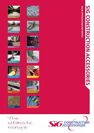 For Grouts See Pages 190 Sig Construction Accessories