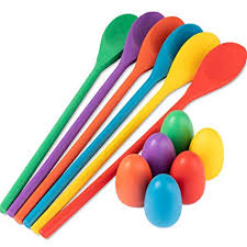 Wooden Spoon Game Amazing Amazon Meklines Egg Spoon Race Game Set 32 Wooden Spoons And 32