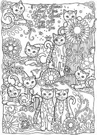 Fresh To Print This Free Coloring Page Coloring Adult Cats Cutes