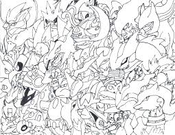 Coloring Pages Legendary Images Regarding All Eeveelutions Pokemon