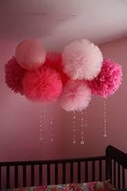 Hanging Pom Pom Decorations 17 Best Ideas About Tulle Poms On Pinterest Pom Pom Tutorial