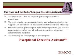 Executive Assistant Job Description Mesmerizing Exceptional Executive Assistant