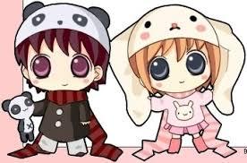anime chibi cat couples. Wonderful Anime Cute Anime Kawaii Inside Anime Chibi Cat Couples S