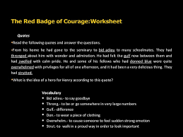 red badge of courage essay the red badge of courage essay