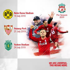 This page contains an complete overview of all already played and fixtured season games and the season tally of the club liverpool in the season overall statistics of current season. Liverpool Schedule Us Tour To Hit Boston New York And South Bend World Soccer Talk