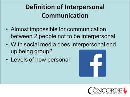 definition of interpersonal skills com 110 interpersonal communication relationships ppt download