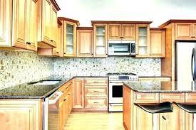 cinnamon kitchen cabinets maple glaze 3 cream marquis