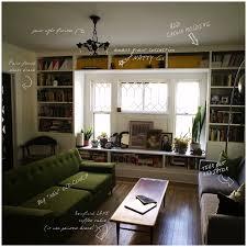 build bookshelves in around window possible window seat too