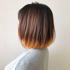 ストレートヘアに合うグラデーションカラーはコレ2019 Hair 髪