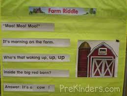 Pocket Chart Poems For Kindergarten Pocket Charts Prekinders