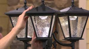 Energizer Solar 3 Head Lamp Post W Detachable Planter With Carolyn Gracie