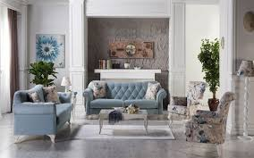 Pale Blue Living Room Valentina Pure Light Blue Living Room Istikbal Furniture