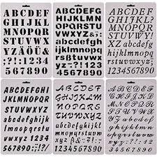 Templates Alphabet Letters Letter Stencil Templates Amazon Com