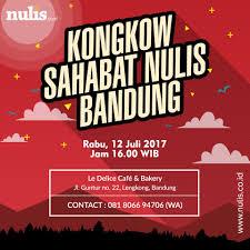 Nuliscoid Halo Halo Bandung Apa Kabar Sahabat Nulis فيسبوك