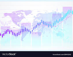 Candle Chart For Stock Stock Market And Exchange Candle Stick Graph