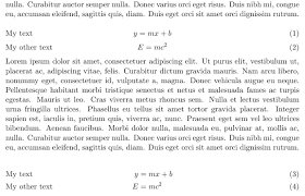 math mode flush text to the left in an unaligned centered  enter image description here