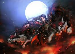 to the battle banehallow the lycan dota 2 fanart by ohodavi on