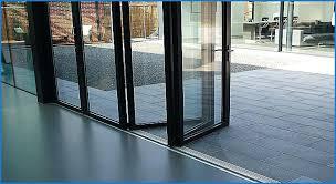 sliding glass door threshold patio too high