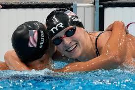 Olympics latest: Katie Ledecky fights ...