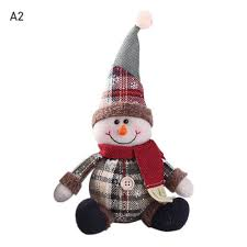 Home, Furniture & DIY <b>Christmas Decor Dolls</b> Snowman Santa ...