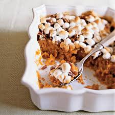 sweet potato casserole recipe with marshmallows and pecans. Exellent Potato Traditional Sweet Potato Casserole And Recipe With Marshmallows Pecans W