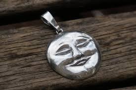 moon face pendant 1