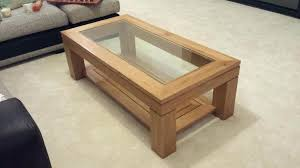 oval oak coffee table oak and glass coffee tables amazing oak coffee table with glass top