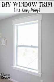 Craftsman Window Trim Diy Window Trim The Easy Way