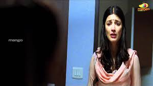 Shruti Haasan Angry With Dhanush 3 Movie Scenes