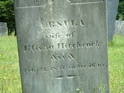 Ursula Colton Hitchcock Hitchcock (1758-1834) - Find A Grave Memorial