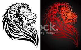 Lví Hlava Tattoo Vektory Z Knihovny Clipartme