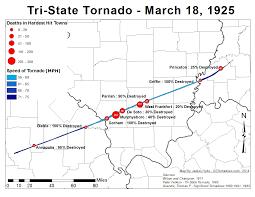 The Tri State Tornado Of 1925 U S Tornadoes