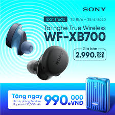 Tai nghe Sony WF-XB700 | Chính Hãng Giá Tốt Nhất Tại TECHSPOTVN