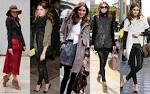 Get the celeb look trendy outerwear