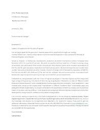 Chemical Engineering Cover Letter Chemical Engineering Cover Letters