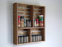 Kitchen Spice Storage Spice Rack Ideas Cabinet