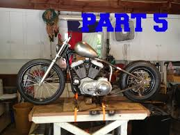 part 5 1999 sportster chop building a chopper youtube