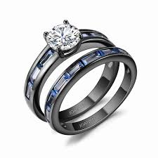 jewelry reviews awesome round cut white sapphire black silver enement rings of jewelry reviews
