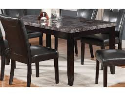 the brick dining room sets. Interesting Dining Tahoe Faux Marble Dining Table TAHOEGTB  The Brick On Room Sets T