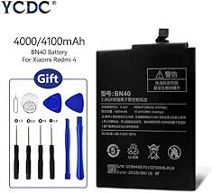 4100mAh Original Battery BN40 for Xiaomi Redmi 4 ... - Amazon.com