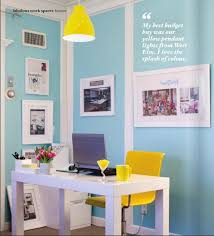 Image Yellow Gray Blue And Yellow Office Space Pinterest Blue And Yellow Office Space Blue And Green Yellow Office