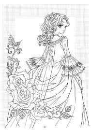 Small Picture Victorian woman fashion dress adult coloring pages Adult