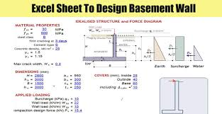 Dowel Bar Design Example Excel Sheet To Design Basement Wall Engineering Discoveries