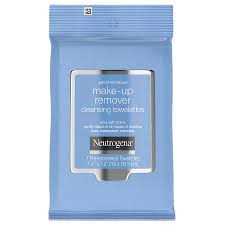 neutrogena makeup remover cleansing towelettes travel pack7ea