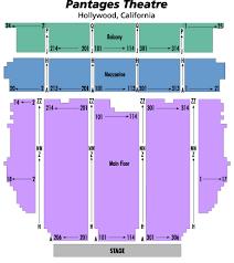 Pantages Seating Views Pantages Theater Tacoma Seating Chart