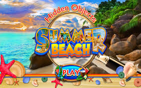 Can you find the items in the pictures? Amazon Com Hidden Objects Summer Beach Time Vacation Travel Hawaii Florida California Puzzle Game Pic Spot The Difference Appstore For Android