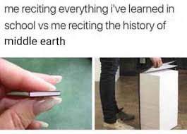 I've Everything - In School Meme Reciting The Me Of History Earth Middle Learned Vs xyz