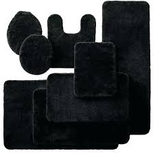 black bathroom rugs royal velvet bath rugs black bathroom rug set 5 piece nice royal velvet black bathroom rugs