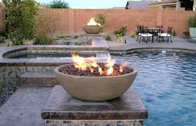 concrete fire bowl a modern concrete outdoor fire bowl that will outdoor fire bowl outdoor gas